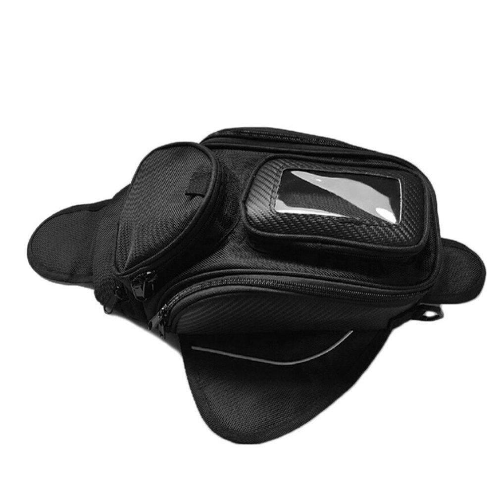โปรโมชั่น Era Motorbike Tank Bag Motorcycle Multi Functional Equipment For Riding Racing Oil Black Intl
