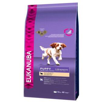 Eukanuba Puppy Food - Lamb & Rice 12KG