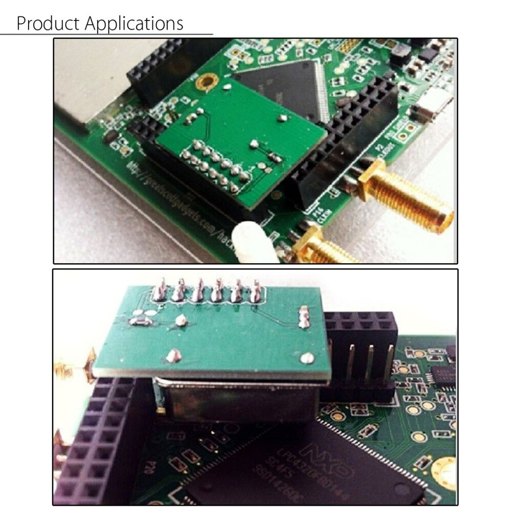 External TCXO Clock PPM 0 1 For HackRF One GPS Applications GSM/WCDMA/LTE  New