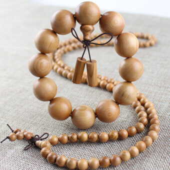 Factory direct Hodo FIR bracelets 15/20 natural wood old material 108 beads prayer beads bracelet for men and women jewelry gift