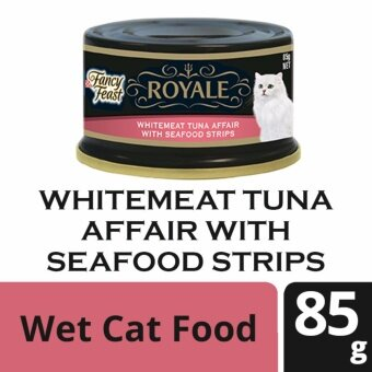 Harga FANCY FEAST(R) ROYALE Whitemeat Tuna Affair With Seafood Strips Wet Cat Food Can (1 Can of 85g)