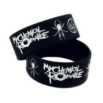 Harga Fancyqube MY CHEMICAL ROMANCE Rubber Bracelet Wristband May DeathNever Stop You Black