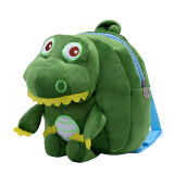 ซื้อ Fashion 2 8 Years Old Baby Plush Cute Lovely Kindergarten Backpacks Color Green Dinosaur ใหม่