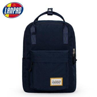 Fashion Laptop Backpack Commuter Bag 14 inch Navy Blue