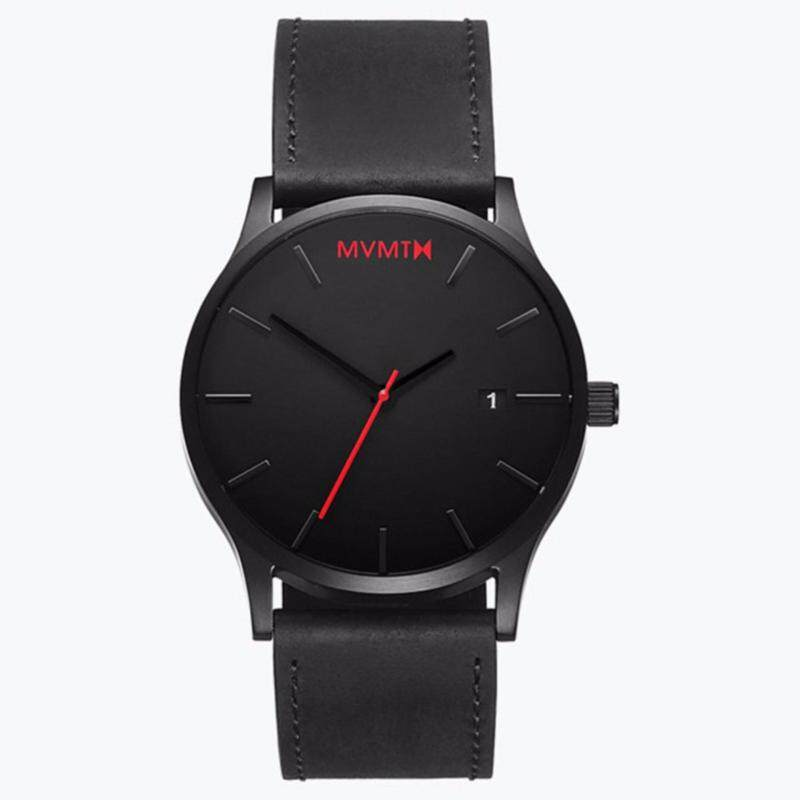 Fashion MVMT Watches Black Face Strap Mens Watch (Hot Sale) Malaysia