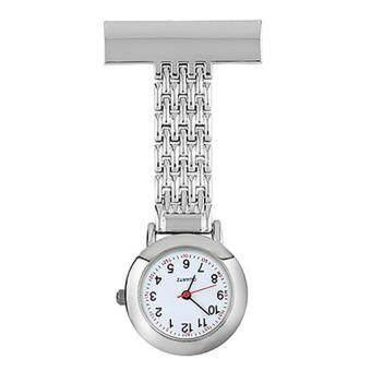FashionFashion Round Dial Nurse Doctor Brooch Clip Quartz Fob Pendant Quartz Pocket Watch