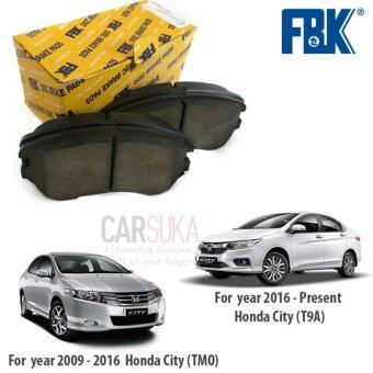 FBK Front Brake Pads for Honda City (TMO & T9A) year2009-Present, FD5868MS