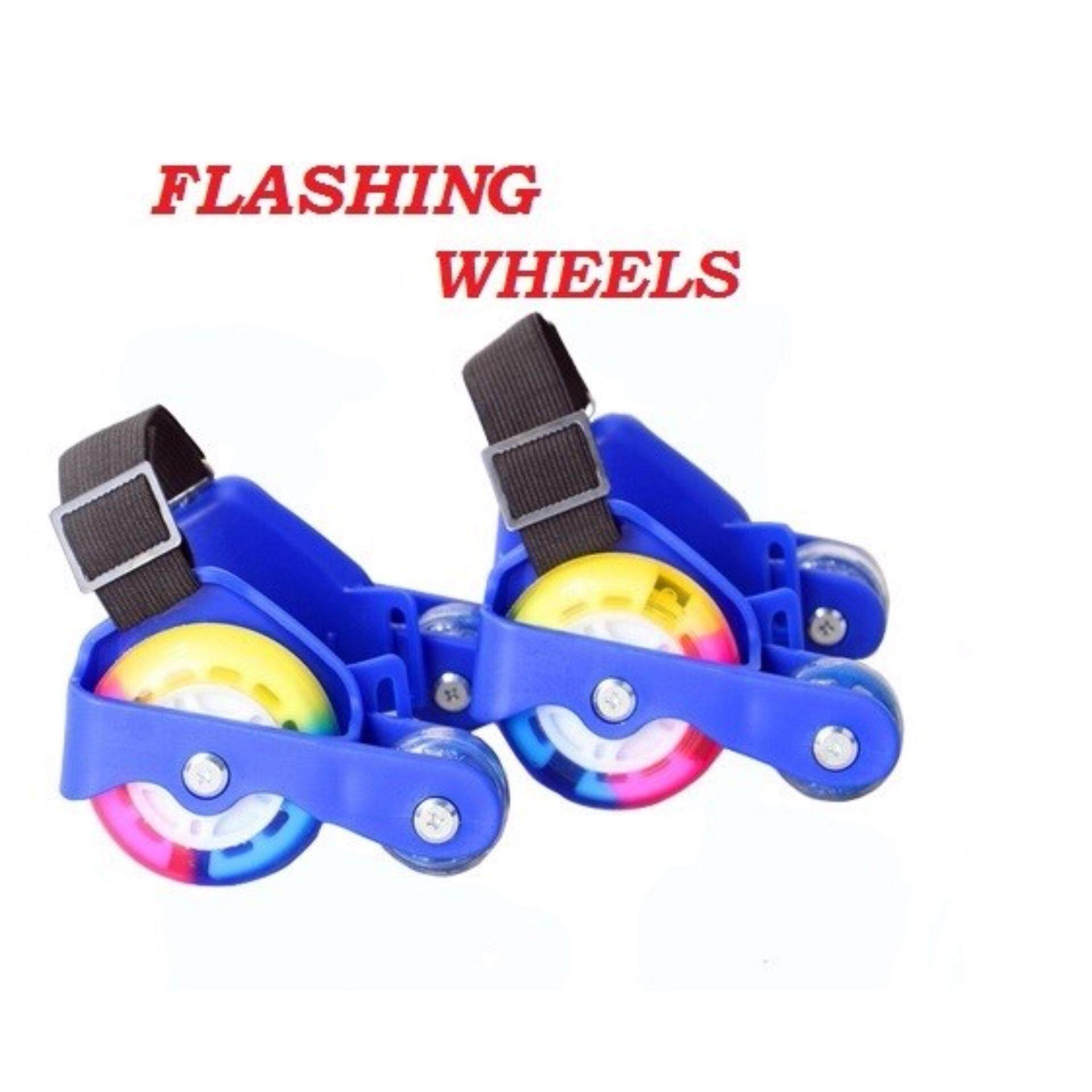 Flashing Wheels On Child Shoes (Blue)