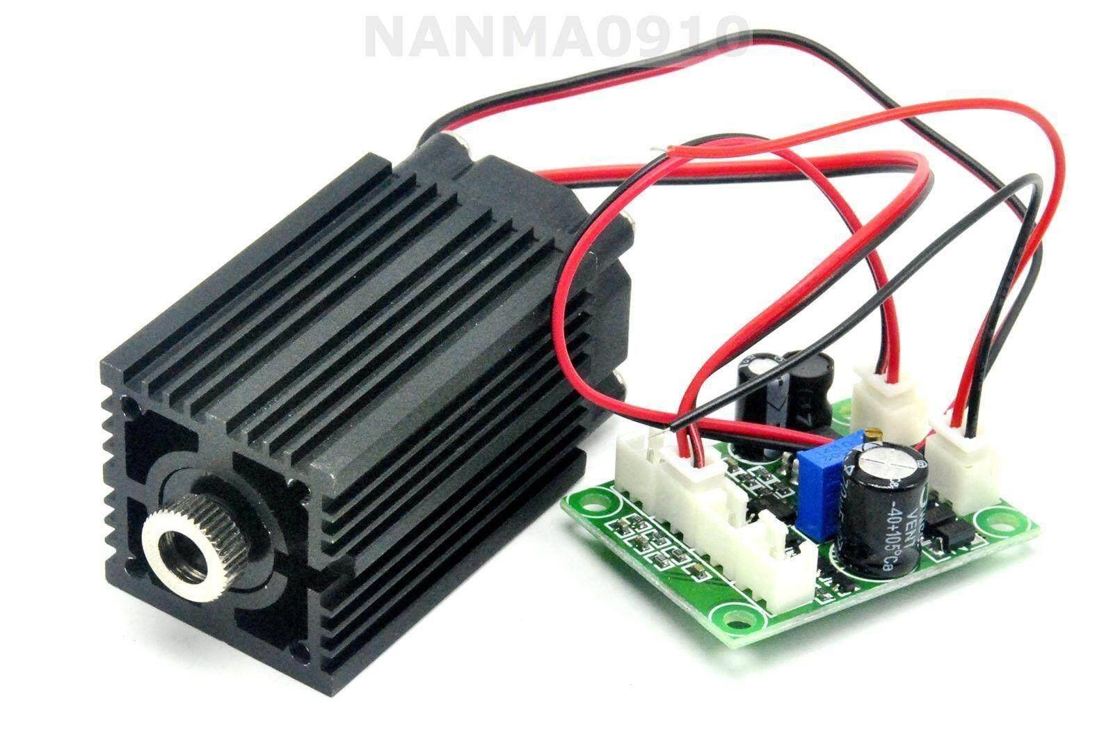 Mô Đun Chấm Diode Laser Hồng Ngoại IR 500Mw 808nm Có Thể Lấy Nét Quạt 12V + Adujstable TTL +