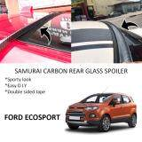 Broz Ford Ecosport Samurai Carbon Rear Top Windscreen OEM Glass Spoiler (3.5cm)