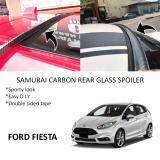 Broz Ford Fiesta Samurai Carbon Rear Top Windscreen OEM Glass Spoiler (3.5cm)
