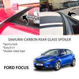 Broz Ford Focus Samurai Carbon Rear Top Windscreen OEM Glass Spoiler (3.5cm)