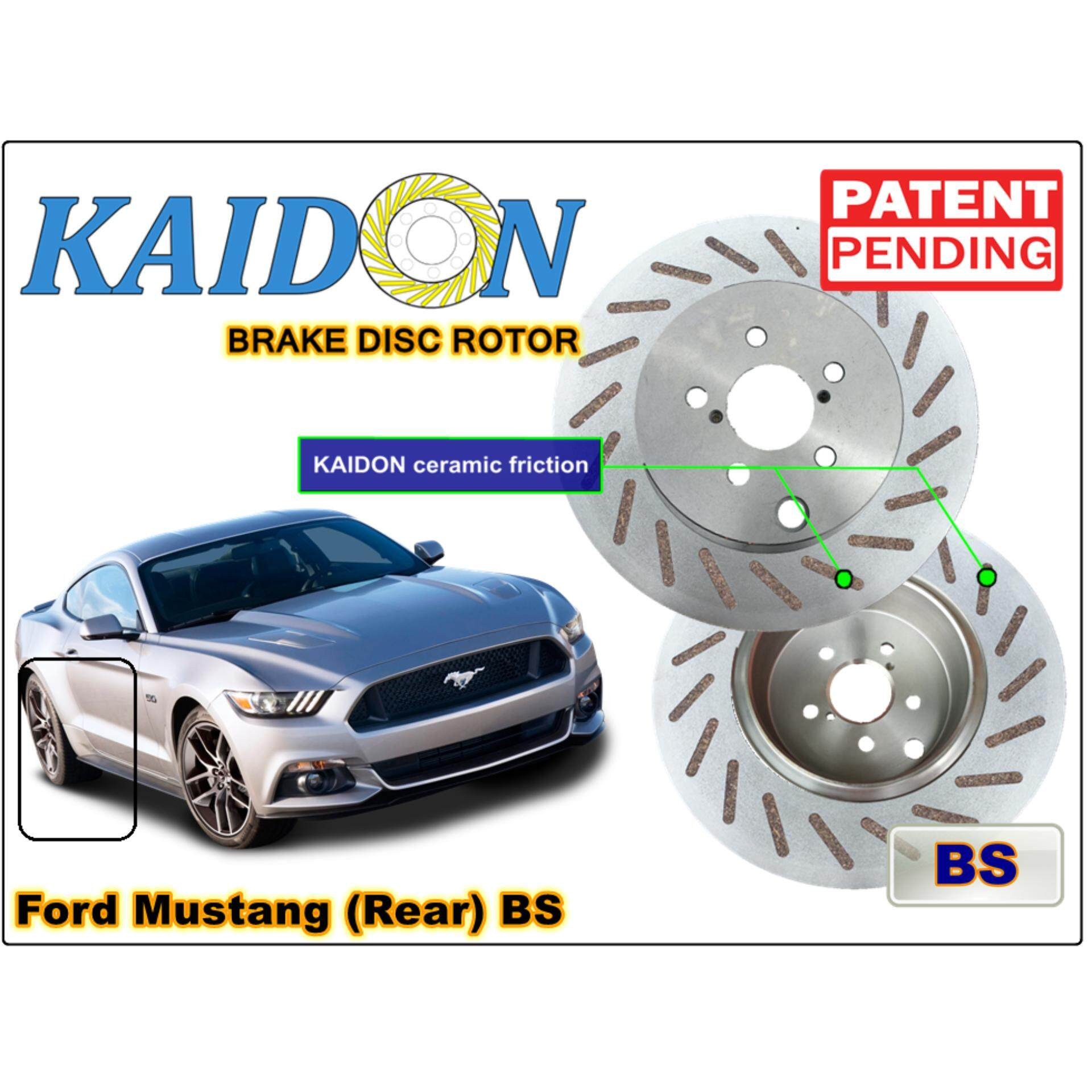 Ford mustang gt brake disc rotor kaidon rear type bs spec