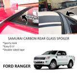 Broz Ford Ranger Samurai Carbon Rear Top Windscreen OEM Glass Spoiler (3.5cm)