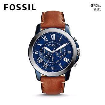 Harga FOSSIL GRANT CHRONO LIGHT BROWN LEATHER WATCH