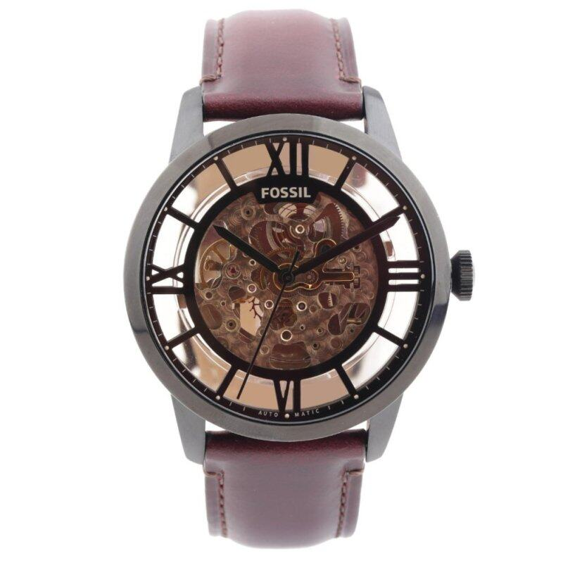 Fossil ME3098 Townsman Automatic Brown Leather Analog Mens Fashion Watch Malaysia