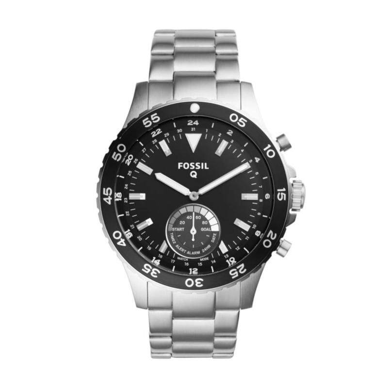 FOSSIL Q CREWMASTER STAINLESS STEEL HYBRID SMARTWATCH Malaysia