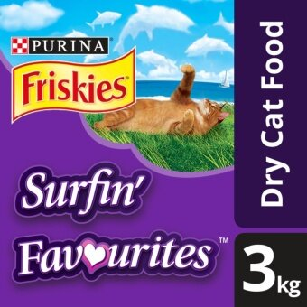 Harga FRISKIES(R) Surfin' Favourites(TM) Dry Cat Food Pack (Pack of 3kg)