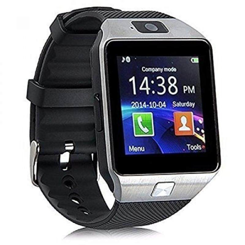 From USA Alike C05 Bluetooth Smart Watch for Iphone & Android Smart Watch (Silver) Malaysia