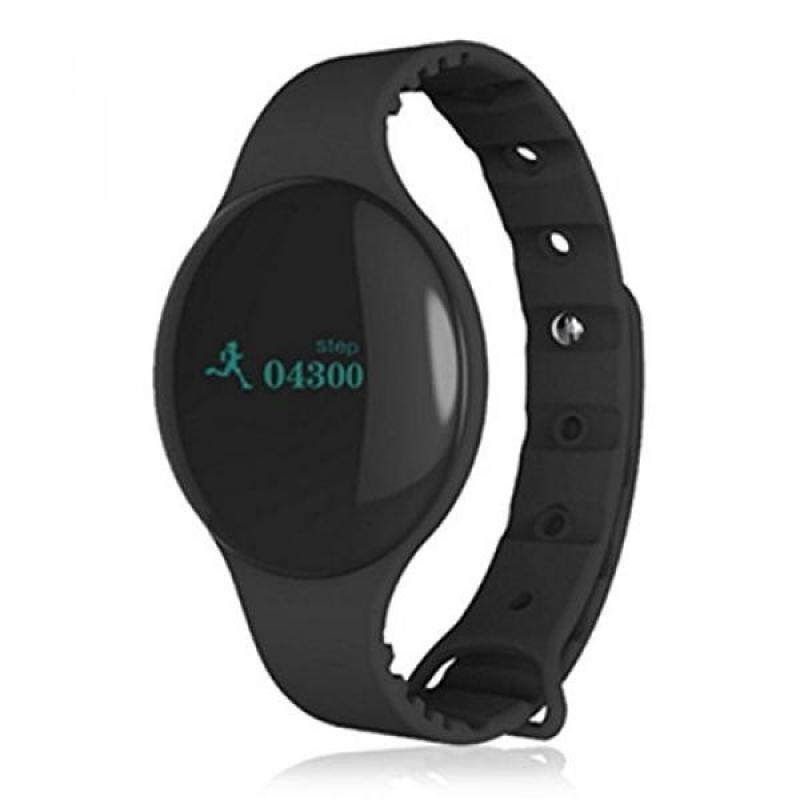From USA Bluetooth Sport Watch,0.66OLED Screen Silicone Sport Watch Record for Pedometer Calorie Miles Time Sedentary Reminder Trends Of Sport (Black) Malaysia