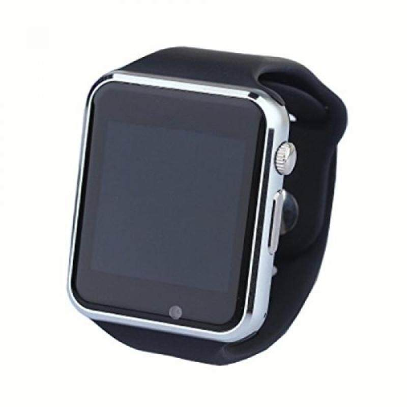 From USA C06 Men and Women Bluetooth Smart Watches Can Plug Mobile Phone Card Phone Camera Sport Watch Pedometer (black) Malaysia