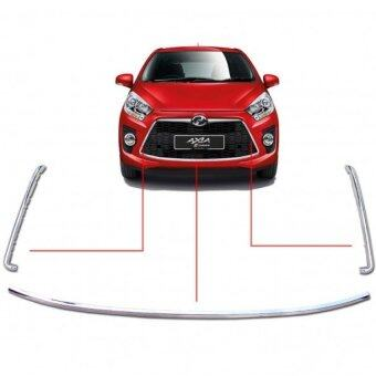 Harga Front Grille Frame Chrome for Perodua Axia