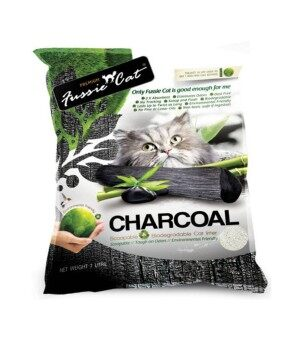 Fussie Cat Litter Paper Charcoal 7L