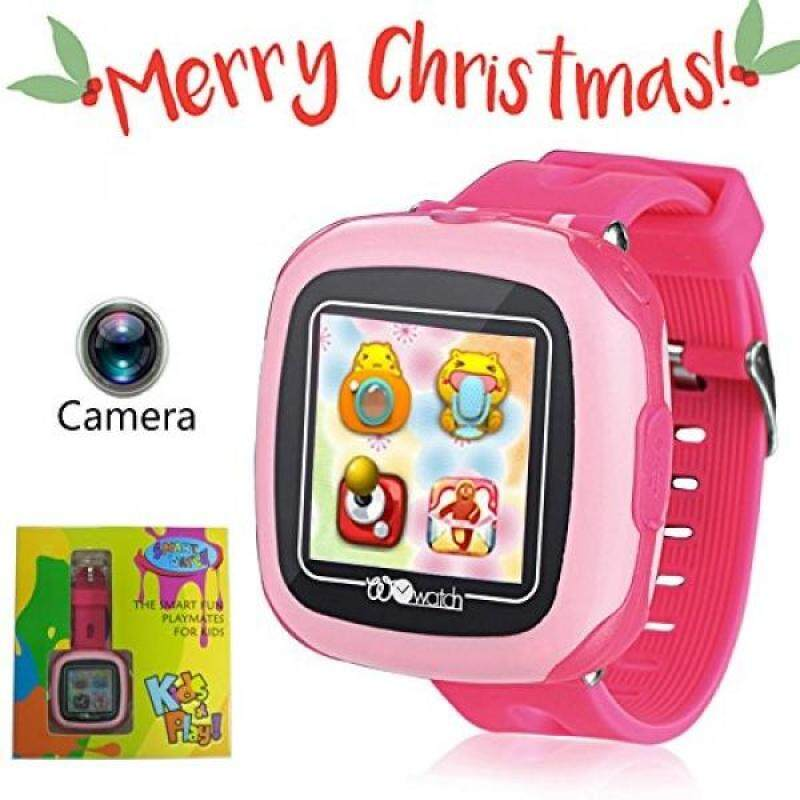 Game Watch for Kids with Digital Camera Touch Screen Smartwatch Support Video Photography Sounds Record Pedometer Calculator Mini Talking Smart Bracelet for Children Christmas Gift (Pink) Malaysia