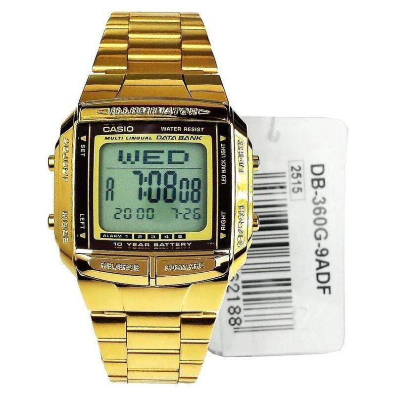Genuine Casio Gold Plated Watch DB-360G-9ADF Malaysia