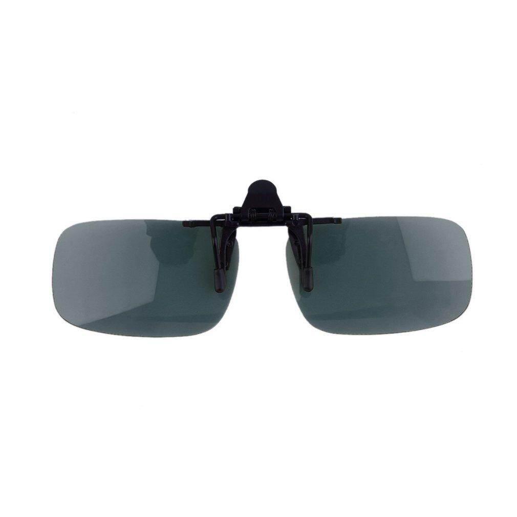 ... Hadiah Mengemudi Malam Vision Lensa Lipat Hingga Keren Kacamata Klip On Lensa