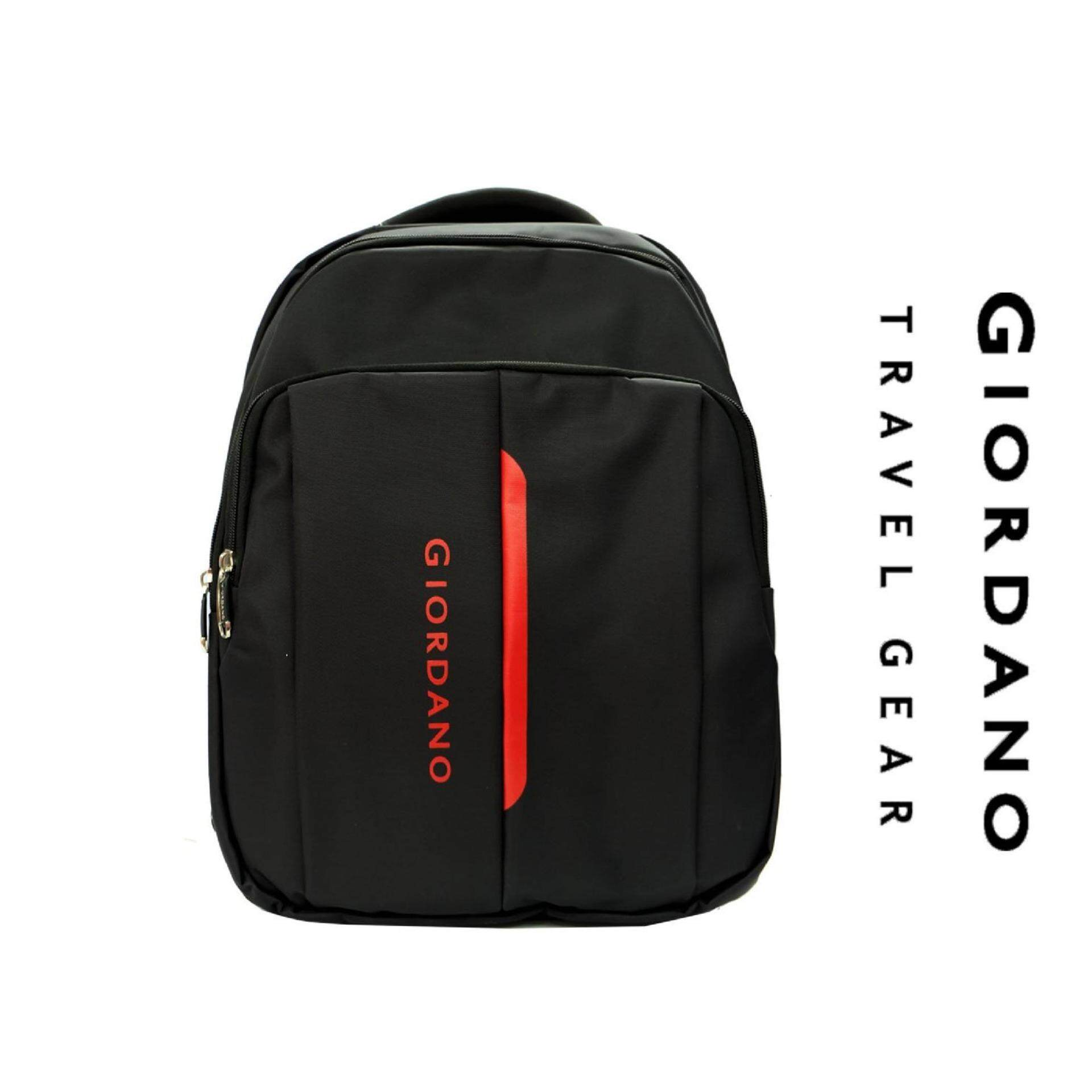 Giordano 19 inch Stylish Business Notebook Backpack  GN1679 -Black/Red