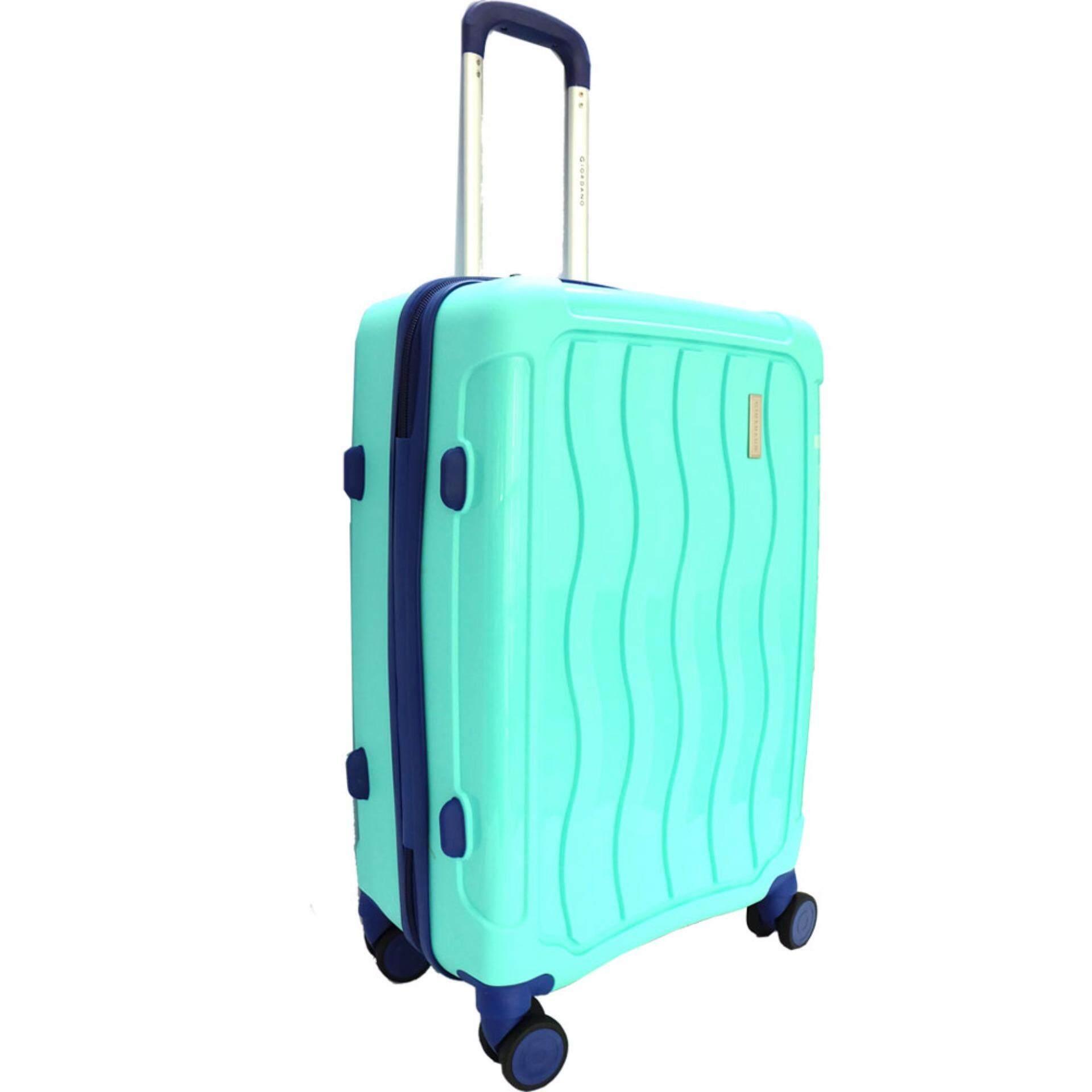 Giordano GA9500 28 Inch Unbreakable PP Hard Case Trolley (Green)