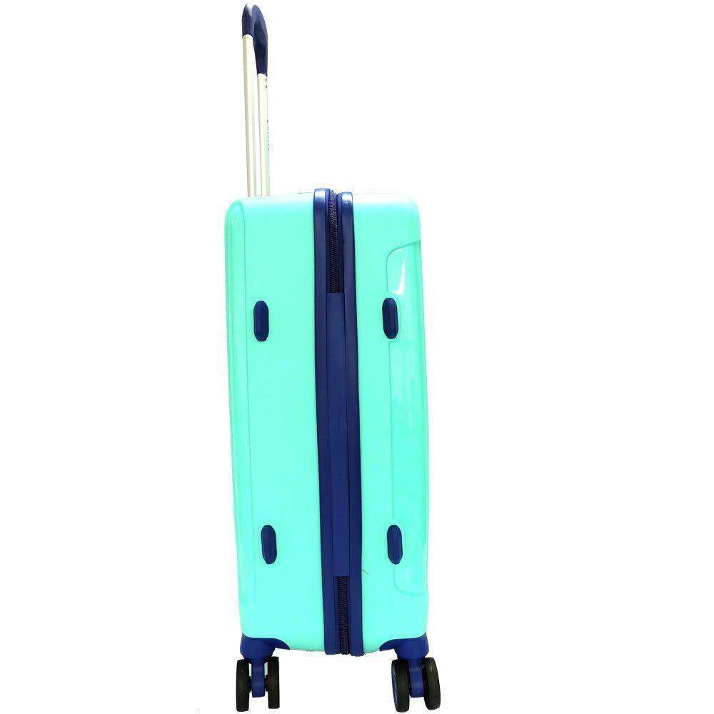 Giordano GA9501 28 Inch Unbreakable PP Hard Case Trolley (Green)