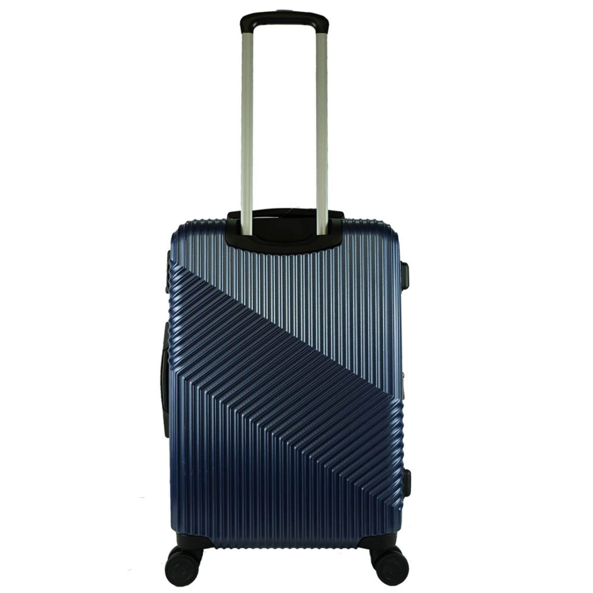 Giordano GA9618 28inch Ultra Strength Expendable ABS Hard Case Trolley (Navy)