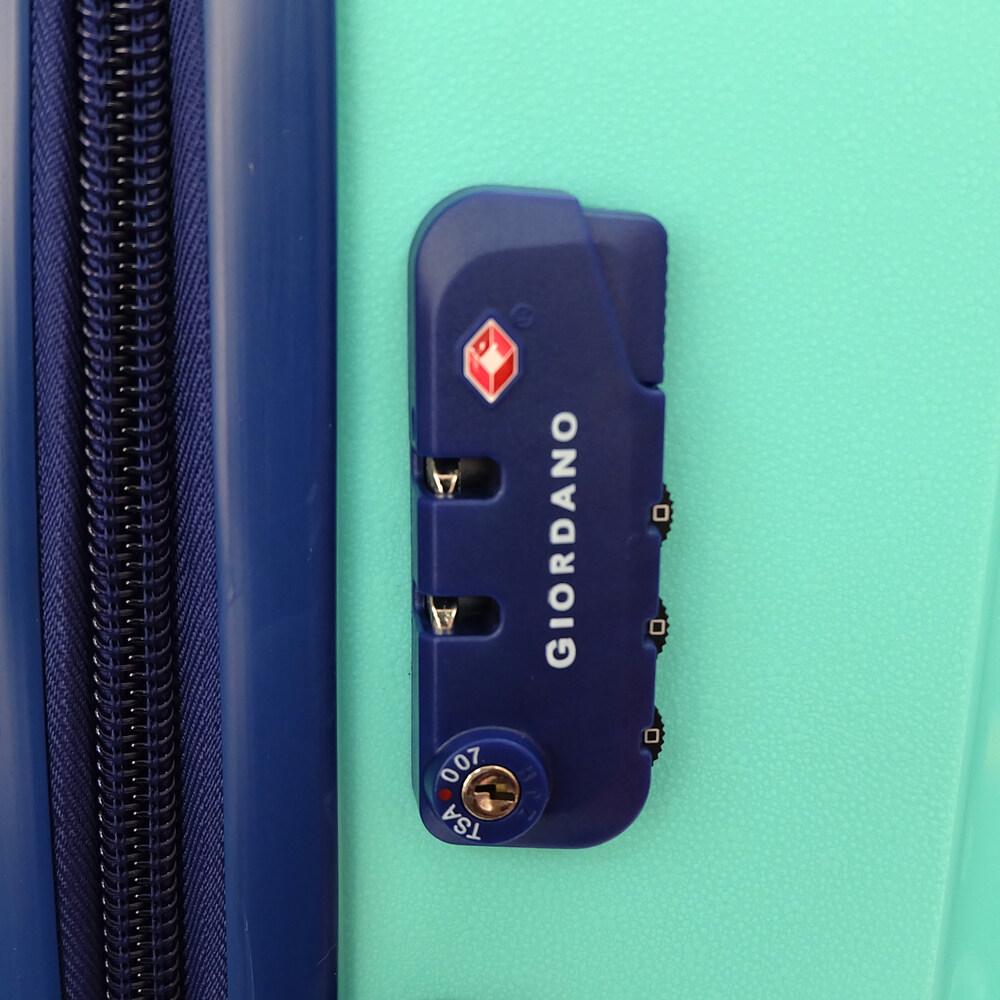 Giordano PPZ401 – 28 Inch Unbreakable PP Hard Case Trolley (Green)