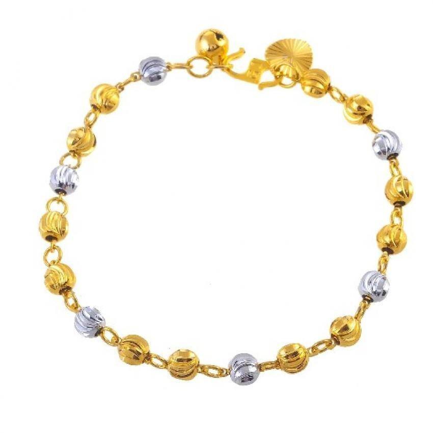 Emas Korea 24k Cop9I6 Golden Jaguar Bracelets(202856)