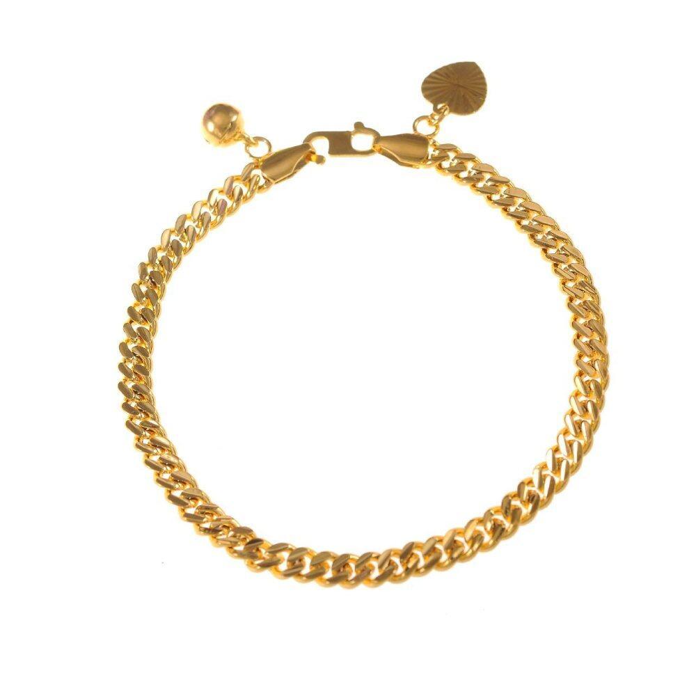 Emas Korea 24k Cop9I6 Golden Jaguar Bracelets(205818)