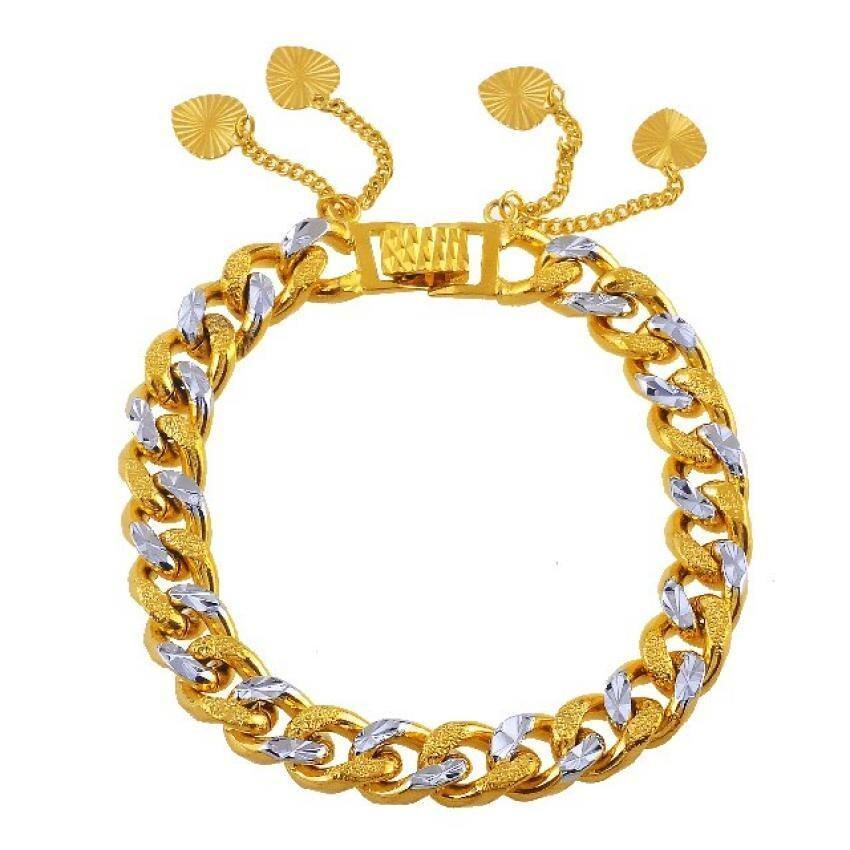 Emas Korea 24k Cop9I6 Golden Jaguar Bracelets(205883)