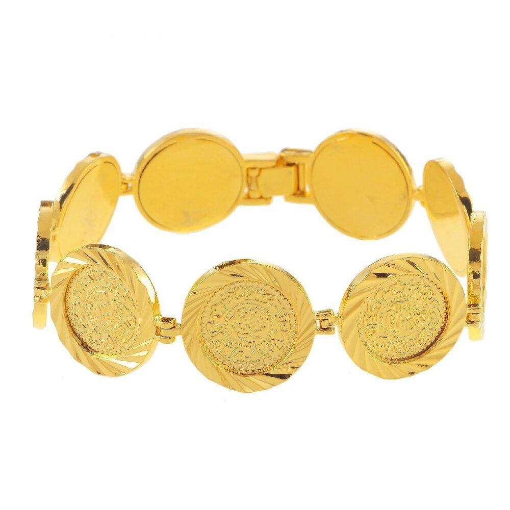 Emas Korea 24k Cop9I6 Golden Jaguar Bracelets(206607)