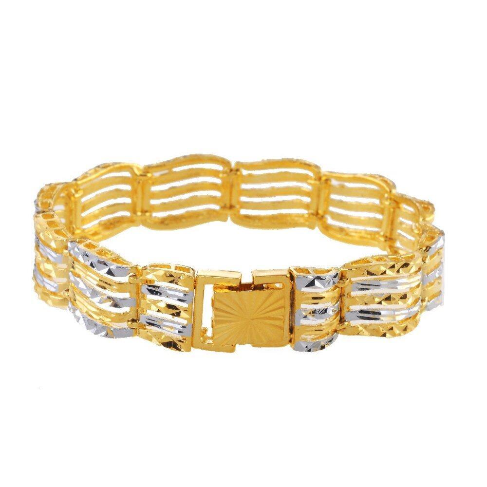 Emas Korea 24k Cop9I6 Golden Jaguar Bracelets(208806)