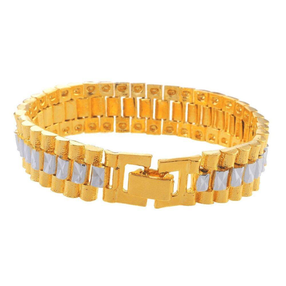 Emas Korea 24k Cop9I6 Golden Jaguar Bracelets(208812)