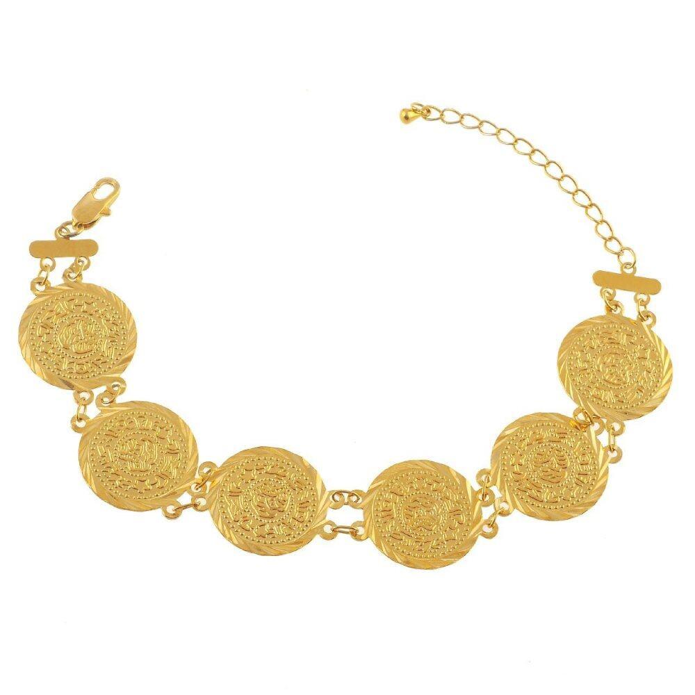 Emas Korea 24k Cop9I6 Golden Jaguar Bracelets(26605)
