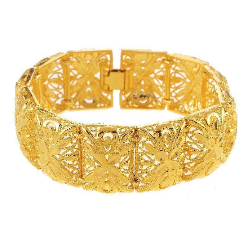 Emas Korea 24k Cop9I6 Golden Jaguar Bracelets(28601)