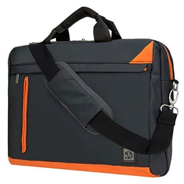 Grey Laptop Oranye Tas Messenger untuk Toshiba 15.6 15.4 14 Satelit/Tecra/Radius Satelit/C Seri /L Seri/S Seri/Seri Sebuah/Fusion-Internasional