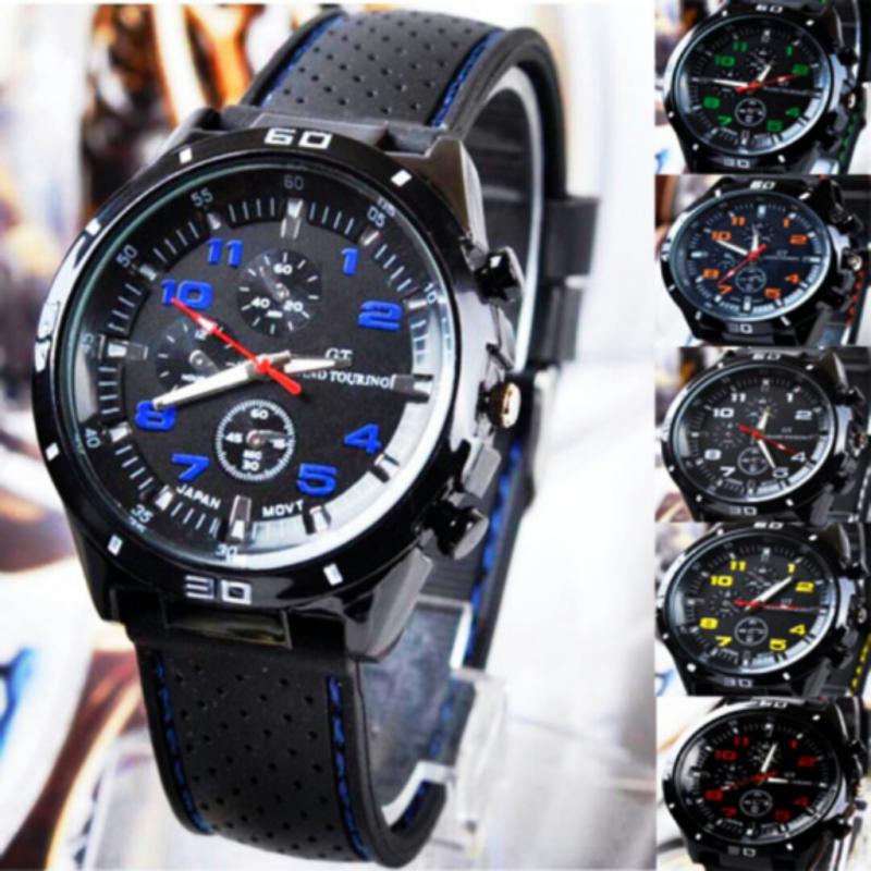 GT Grand Racing Men Fashion Cool  Sports Watch(Blue) Malaysia