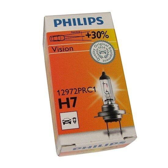 H7 Philips Vision 12V 55W Halogen Bulb