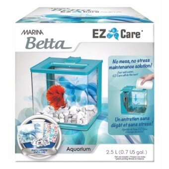 Harga Hagen Marina Betta EZ Care Aquarium 2.5L (Blue)
