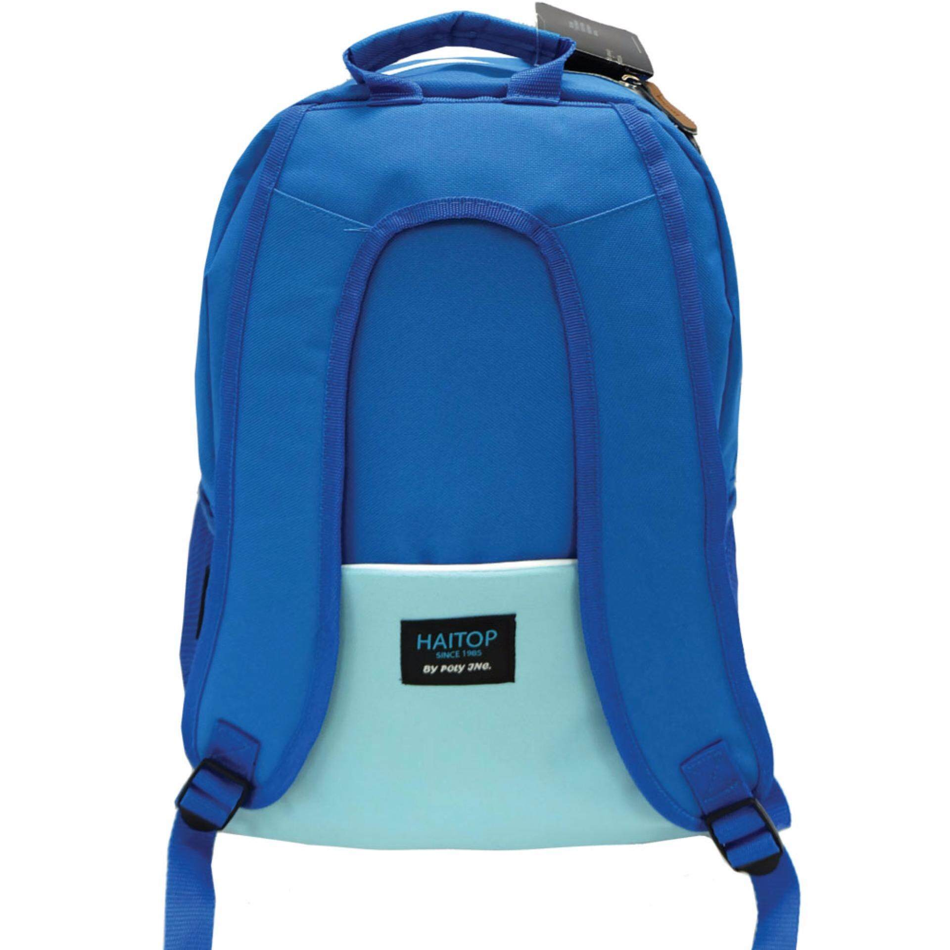 Haitop HB1553 18'' Casual Backpack (Blue)