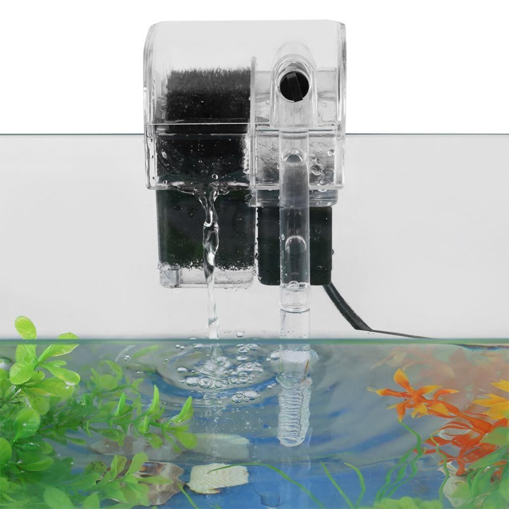 Hanging Type Aquarium Filter External Oxygen Pump Water Filter for Aquarium Fish Tank - intl