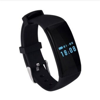 Harga Heart Rate Waterproof Smart Bracelet D21 Fitness Tracker Swim Band Bluetooth 4.0 Sport Smartband for Android iOS Gift